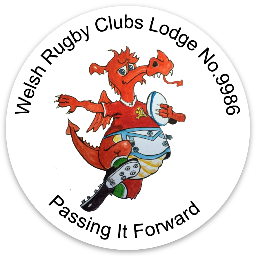 Welsh Rugby Clubs Lodge copyright logo